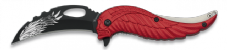 Red Feather Folding Knife